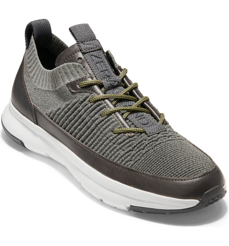 COLE HAAN ZeroGrand MVR Sneaker, Main, color, SAGE/ GRAY PINSTRIPE/ GRAY