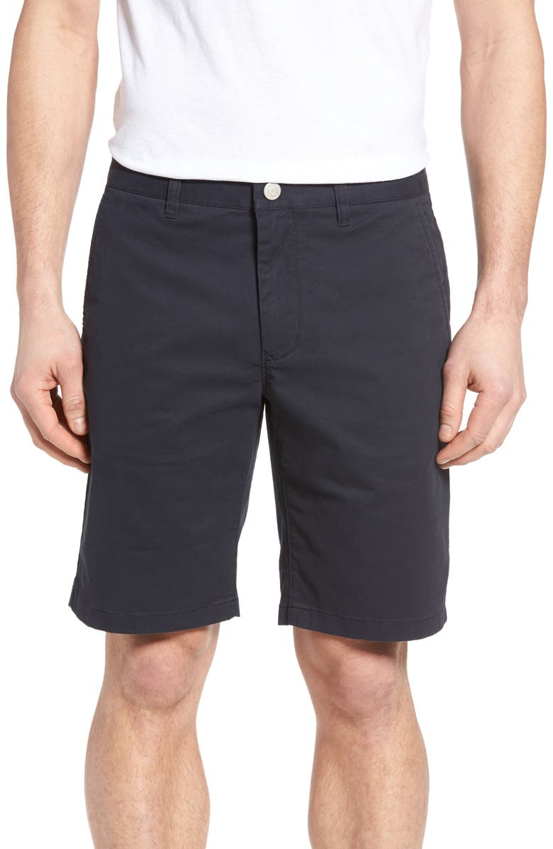 BONOBOS Stretch Washed Chino 9-Inch Shorts, Main, color, JET BLUES