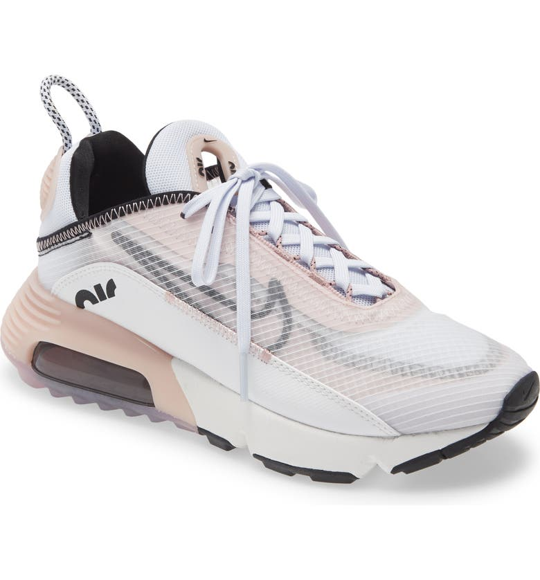 NIKE Air Max 2090 Sneaker, Main, color, SUMMIT WHITE/ BLACK/ CHAMPAGNE