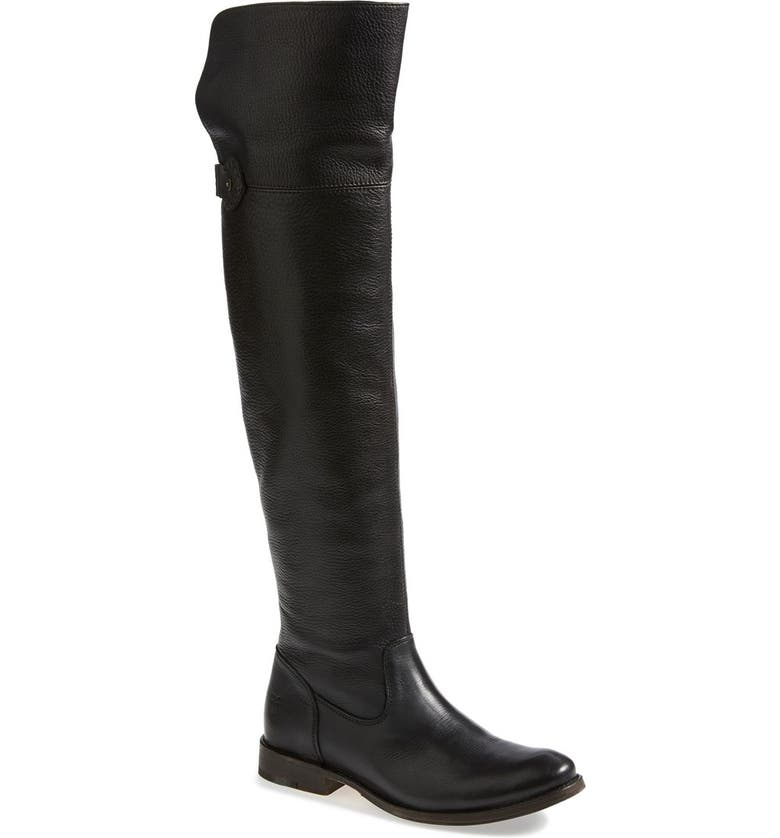 FRYE 'Shirley' Over the Knee Boot, Main, color, 001