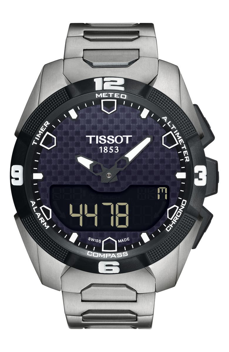 TISSOT T-Touch ExperSolar Expert Smartwatch, 45mm, Main, color, 040