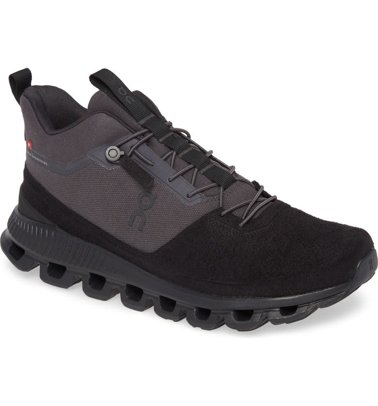 ON Cloud High Walking Shoe, Main, color, ECLIPSE/ BLACK