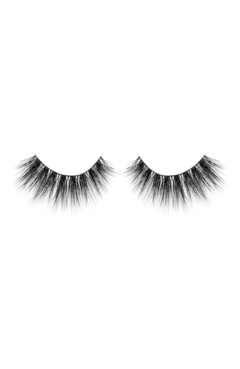 LILLY LASHES Ela 3D Mink False Lashes, Main, color, 000