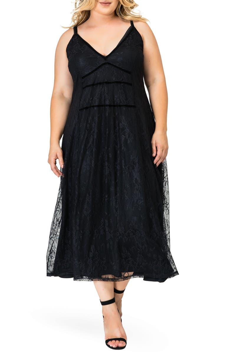 STANDARDS & PRACTICES Bethany Lace Maxi Dress, Main, color, 001