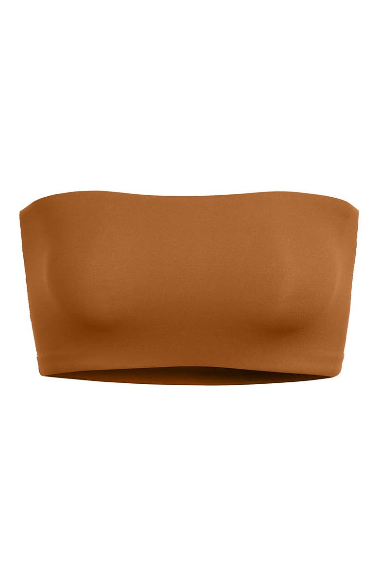 SKIMS Fits Everybody Bandeau Bralette, Main, color, COPPER