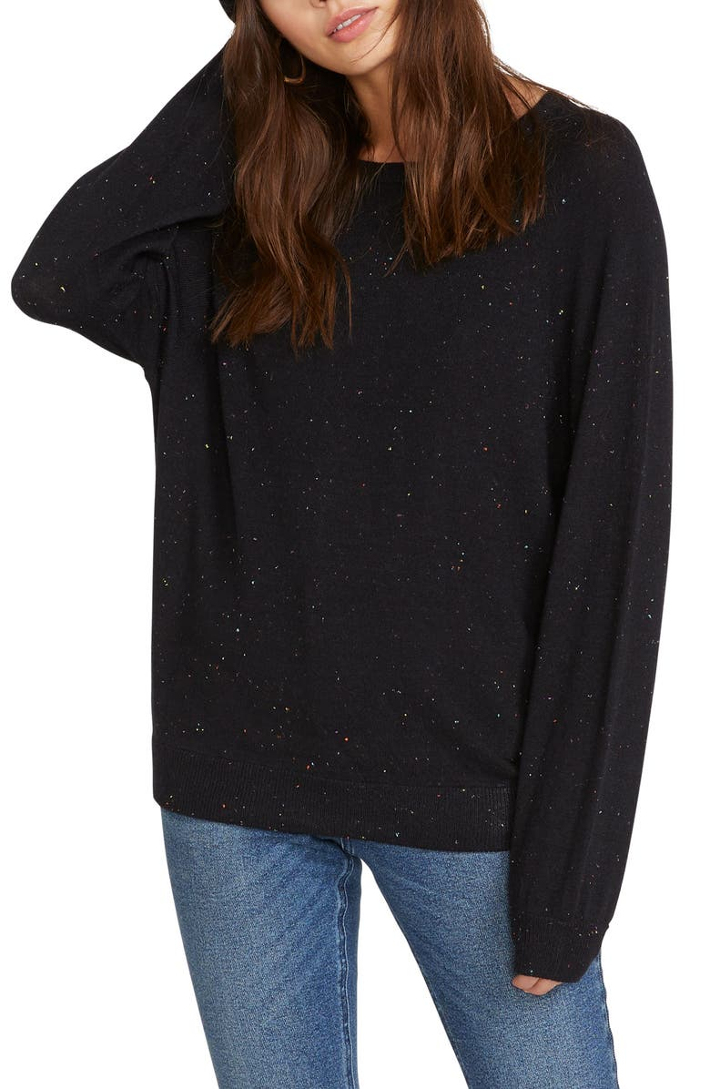 VOLCOM Only Over N Over Sweater, Main, color, 001