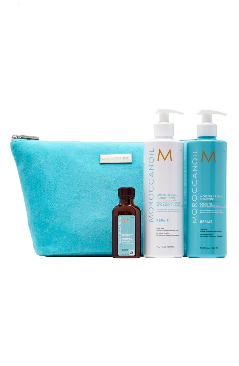 MOROCCANOIL<SUP>®</SUP> 'Moisture Repair' Hair Set, Main, color, 000