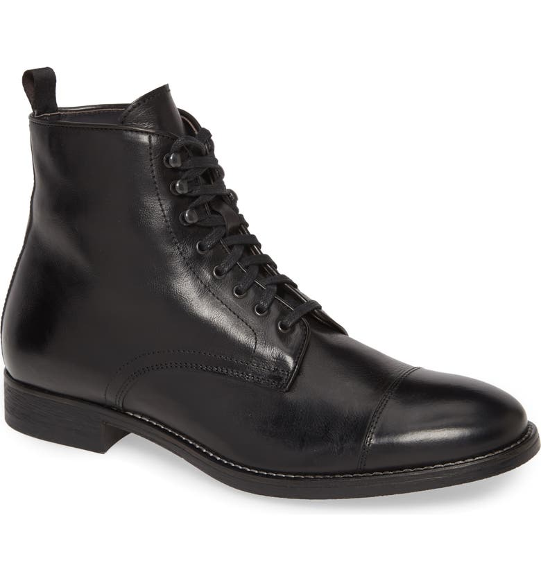 TO BOOT NEW YORK Richmond Cap Toe Lace-Up Boot, Main, color, 001