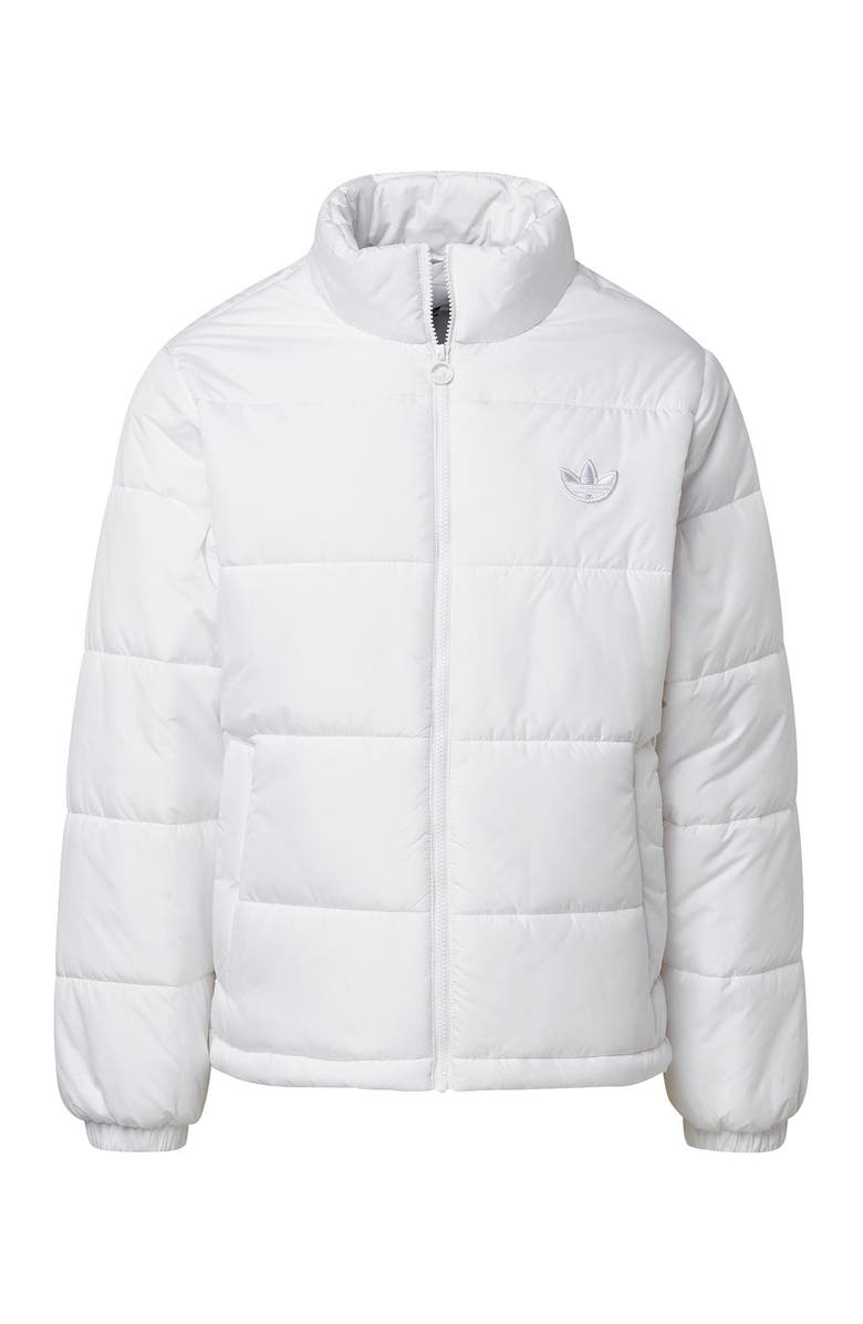 ADIDAS Padded Puffer Jacket, Main, color, WHITE