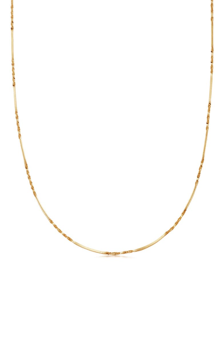 MISSOMA Isa Twisted Chain Necklace, Main, color, GOLD