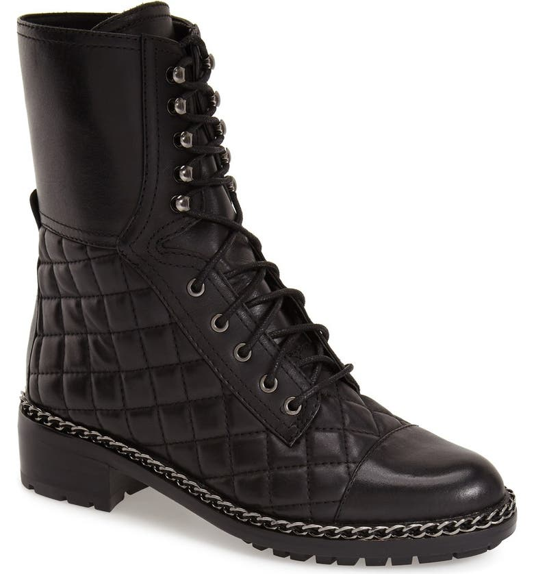 VINCE CAMUTO 'Joanie' Boot, Main, color, BLACK LEATHER