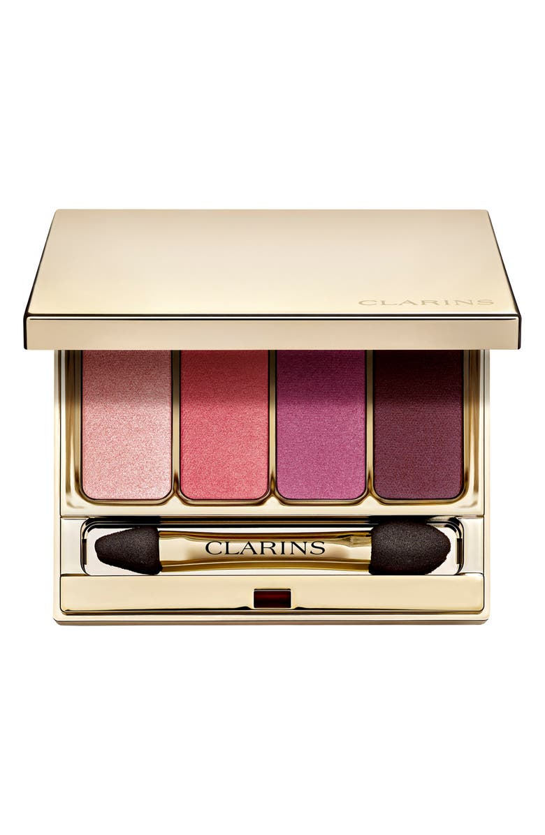 CLARINS Four-Color Eyeshadow Palette, Main, color, 000