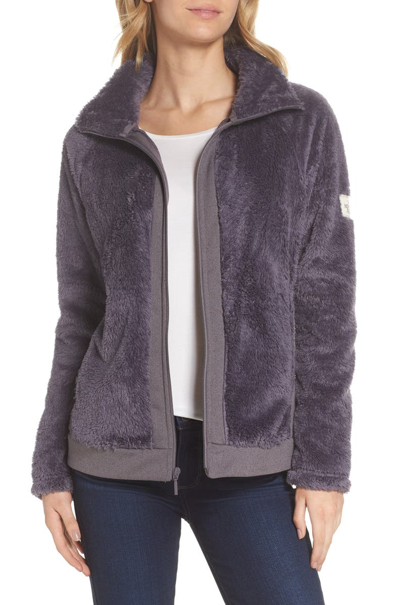 THE NORTH FACE Furry Fleece Jacket, Main, color, 021