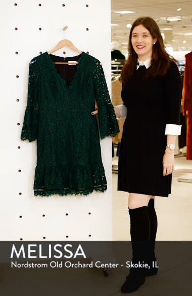 Bell Sleeve Lace Cocktail Dress, sales video thumbnail