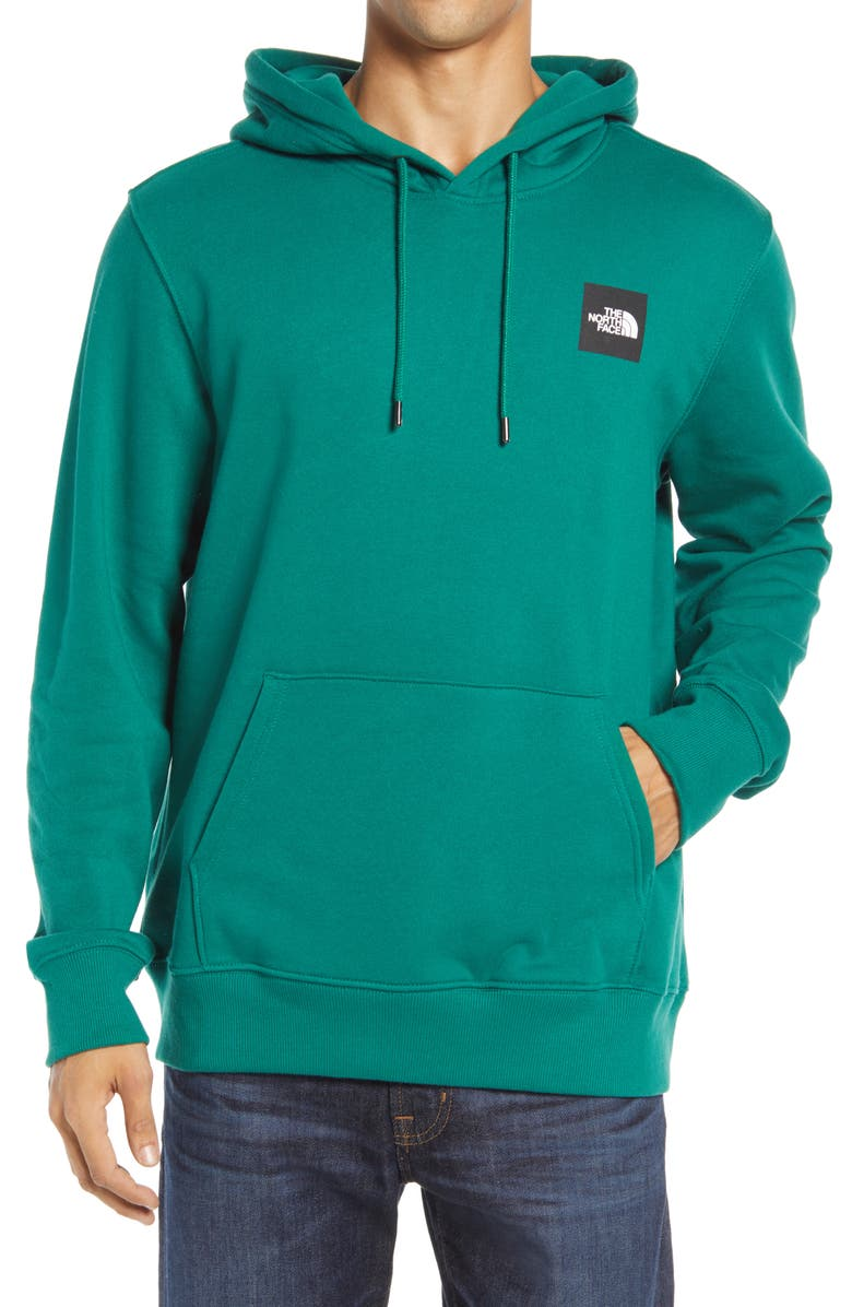 THE NORTH FACE 2.0 Red Box Hoodie, Main, color, EVERGRN/ TNFBLCK