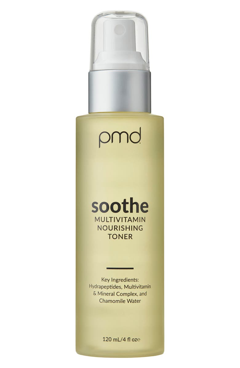 PMD Soothe: Multivitamin Nourishing Toner, Main, color, No Color