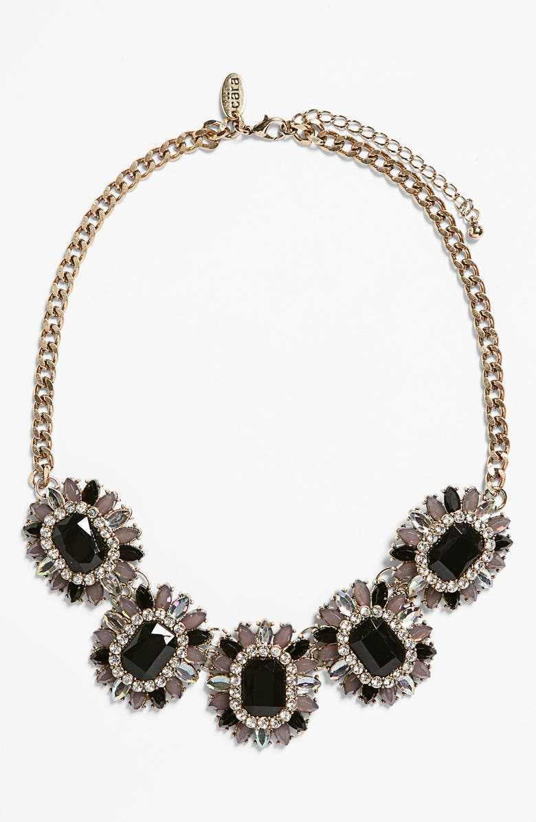 CARA Stone Frontal Necklace, Main, color, 001