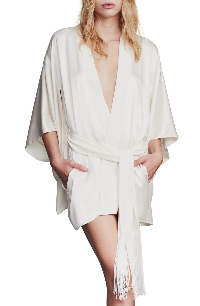 KIKI DE MONTPARNASSE Silk Robe, Main, color, 900