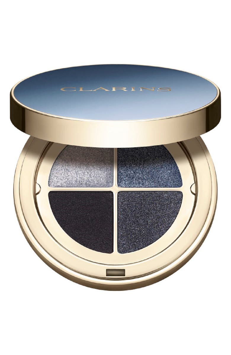 CLARINS Ombré 4 Couleurs Eyeshadow Quad, Main, color, 06 MIDNIGHT