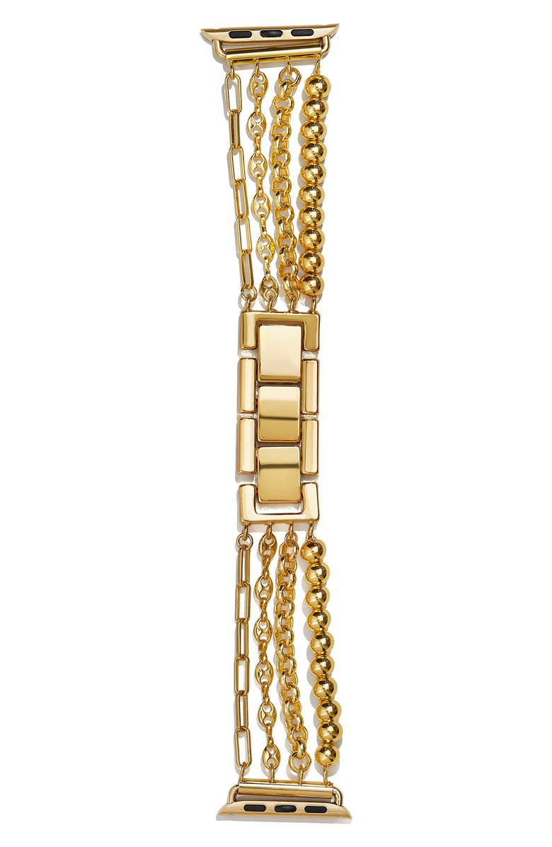 BAUBLEBAR Mixed Chains Apple Watch<sup>®</sup> Band, Main, color, YELLOW GOLD
