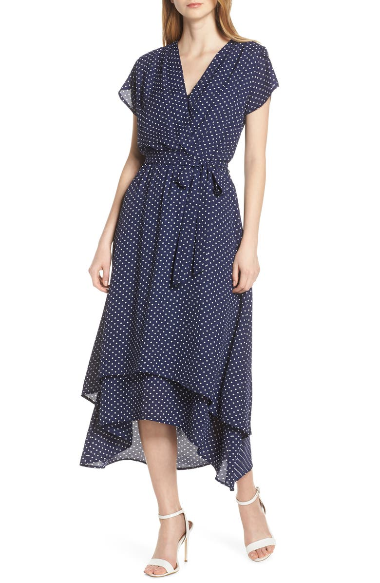 FRAICHE BY J Michelle High/Low Midi Dress, Main, color, 490