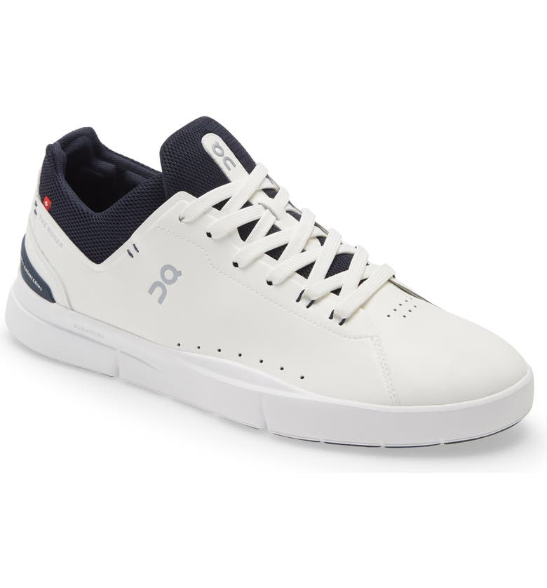 ON THE ROGER Advantage Tennis Sneaker, Main, color, WHITE/ MIDNIGHT