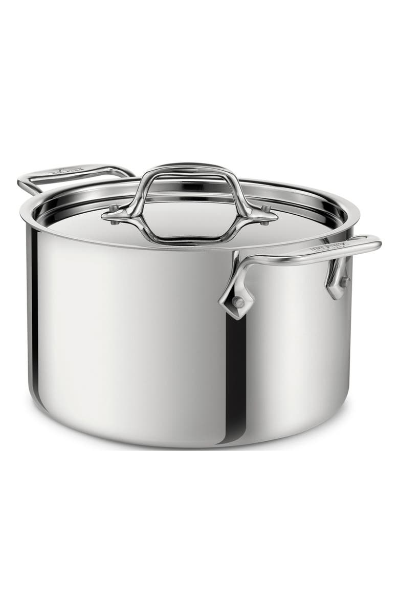 ALL-CLAD 4-Quart Casserole with Lid, Main, color, 040