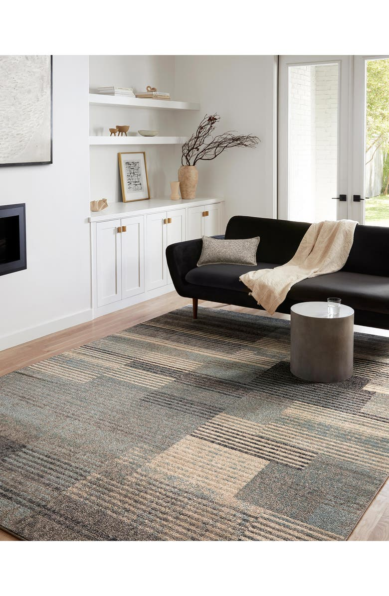 LOLOI II Bowery Rug - Storm/Taupe, Main, color, STORM / TAUPE