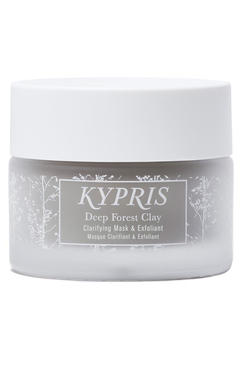 KYPRIS Deep Forest Clay Clarifying Mask & Exfoliant, Main, color, No Color
