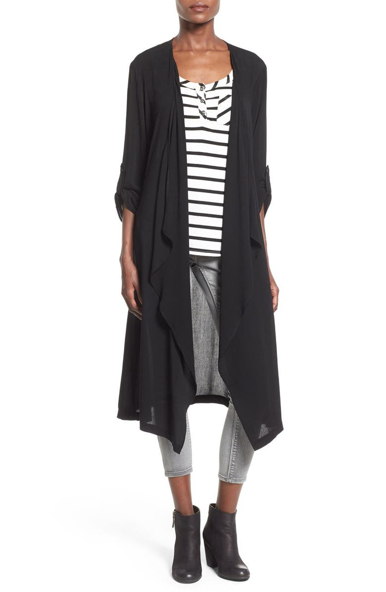 SUN & SHADOW Woven Duster, Main, color, 001