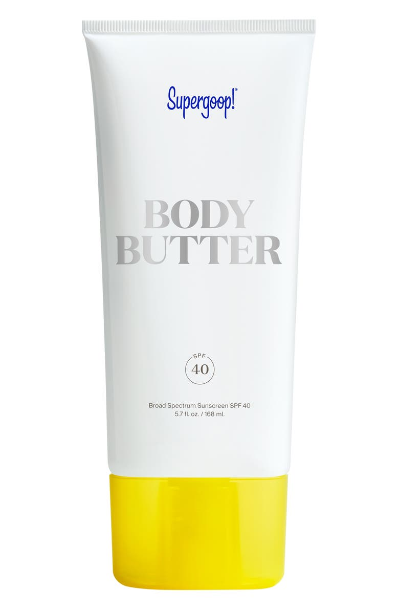 SUPERGOOP!<SUP>®</SUP> Supergoop! Body Butter Broad Spectrum Sunscreen SPF 40, Main, color, No Color