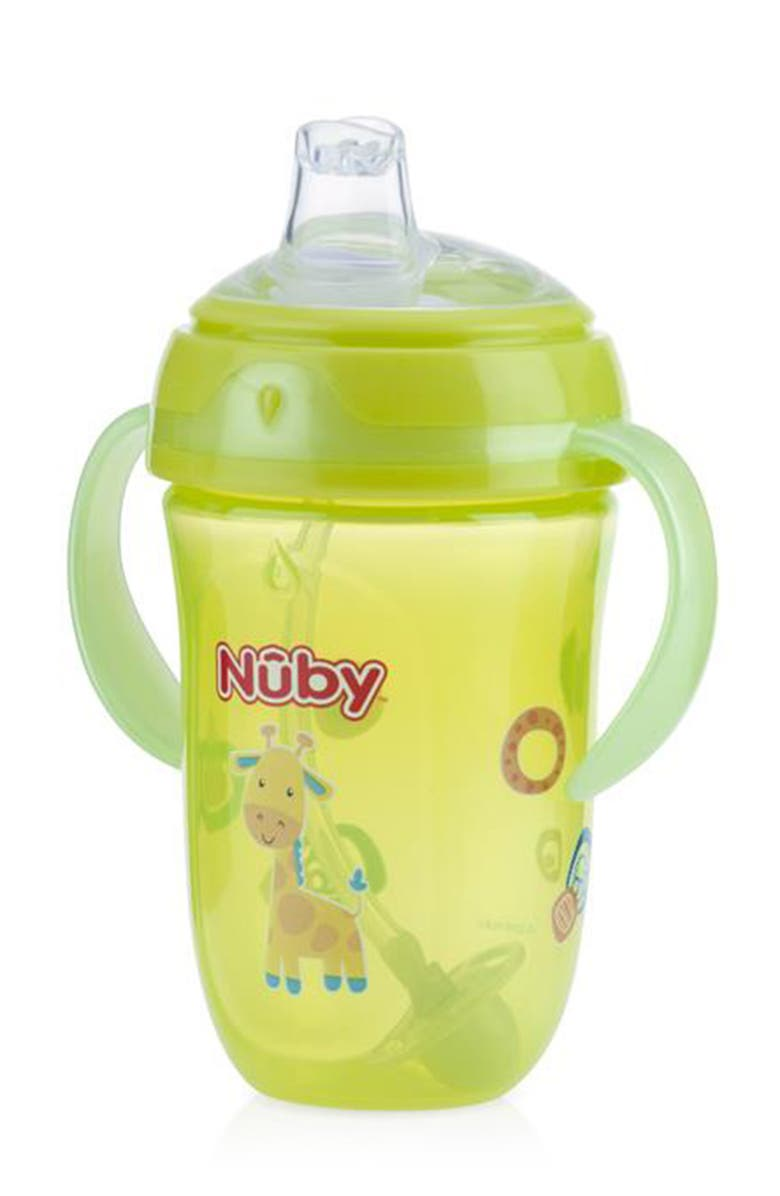 NUBY 9oz. Handled Sippy Cup (Kids) - Colors May Vary, Main, color, MULTI