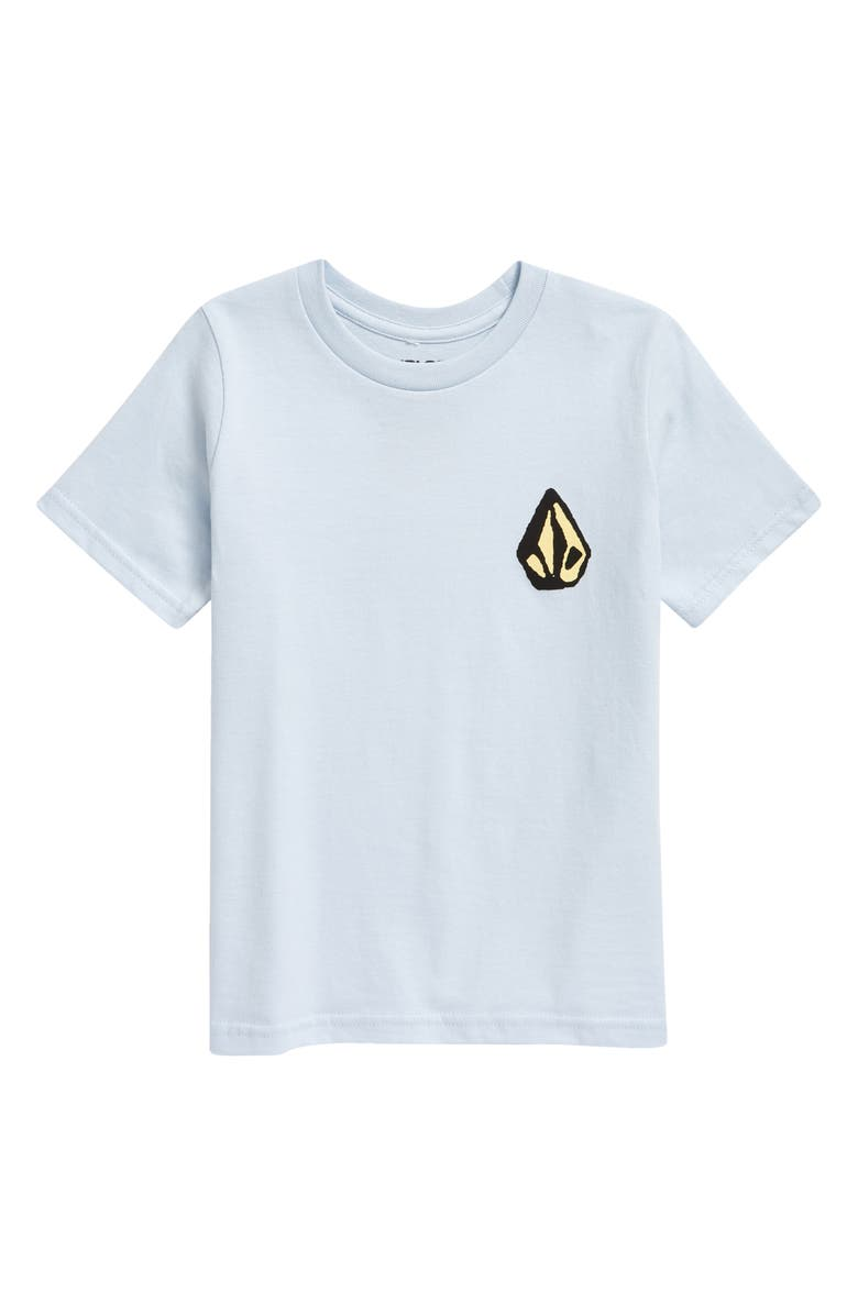 VOLCOM Kids' Ozzy Graphic Tee, Main, color, AETHER BLUE