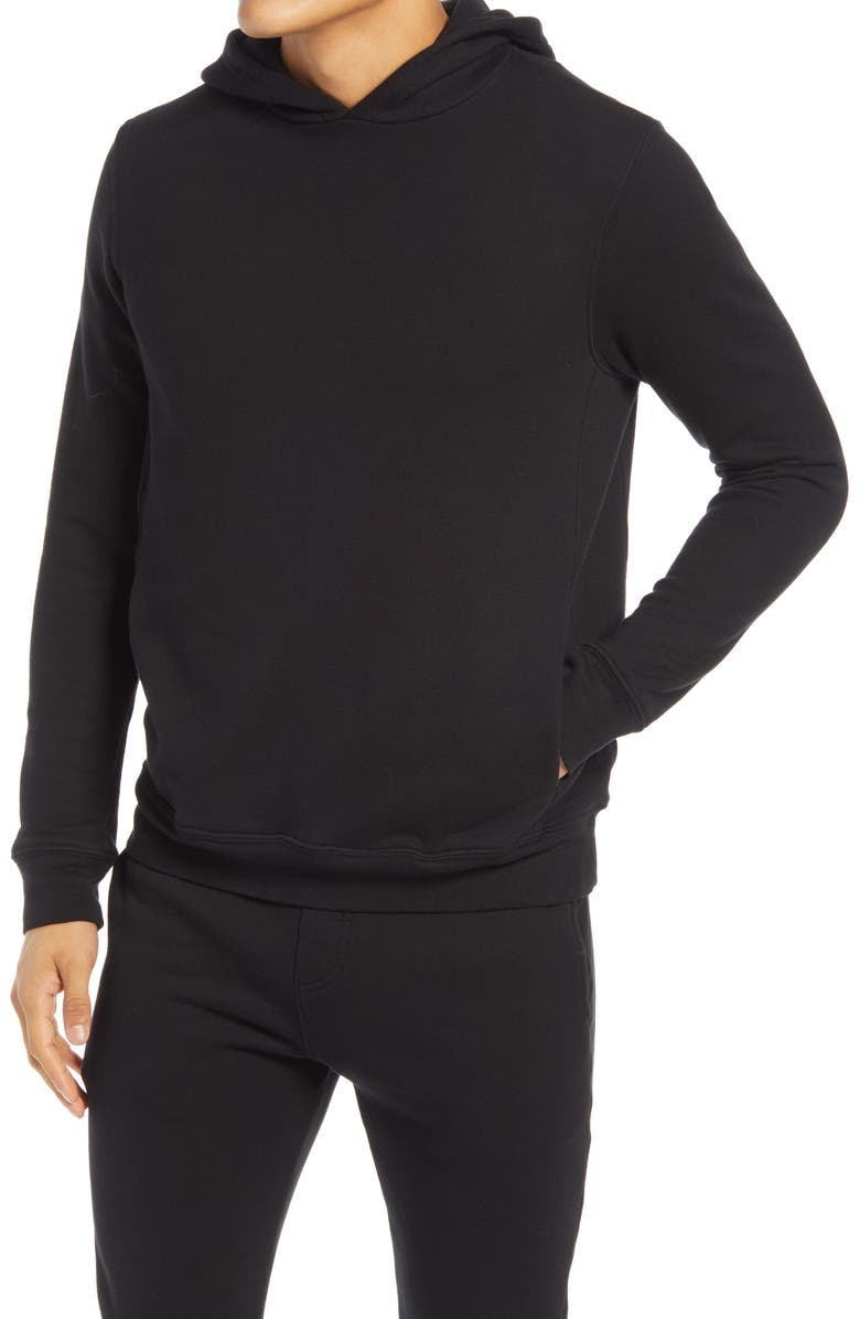 GOODLIFE Loop Terry Hoodie, Main, color, BLACK