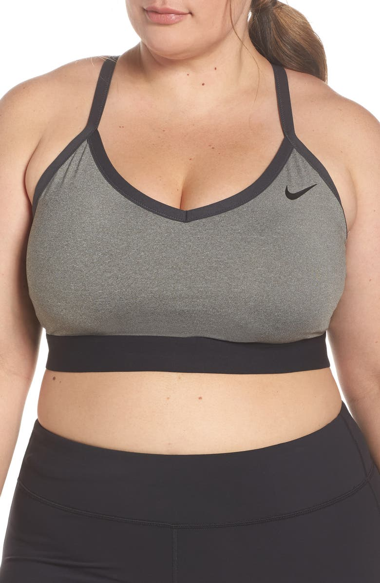 NIKE Indy Sports Bra, Main, color, CARB H/BLACK