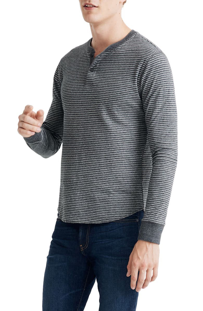 MADEWELL Doubledown Stripe Henley, Main, color, 026