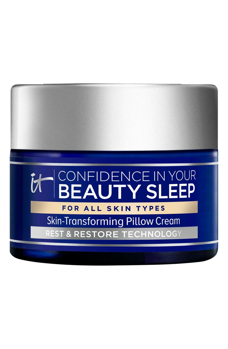 IT COSMETICS Confidence in Your Beauty Sleep Skin Transforming Pillow Cream, Main, color, No Color