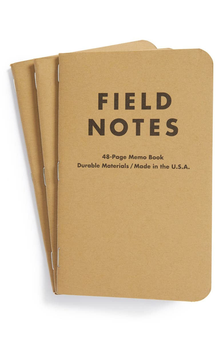 FIELD NOTES Ruled Memo Books, Main, color, 201