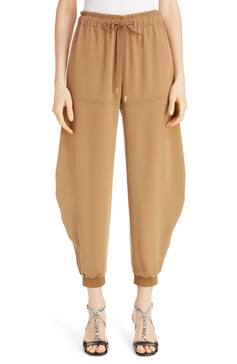 CHLOÉ Joggers, Main, color, OLIVE