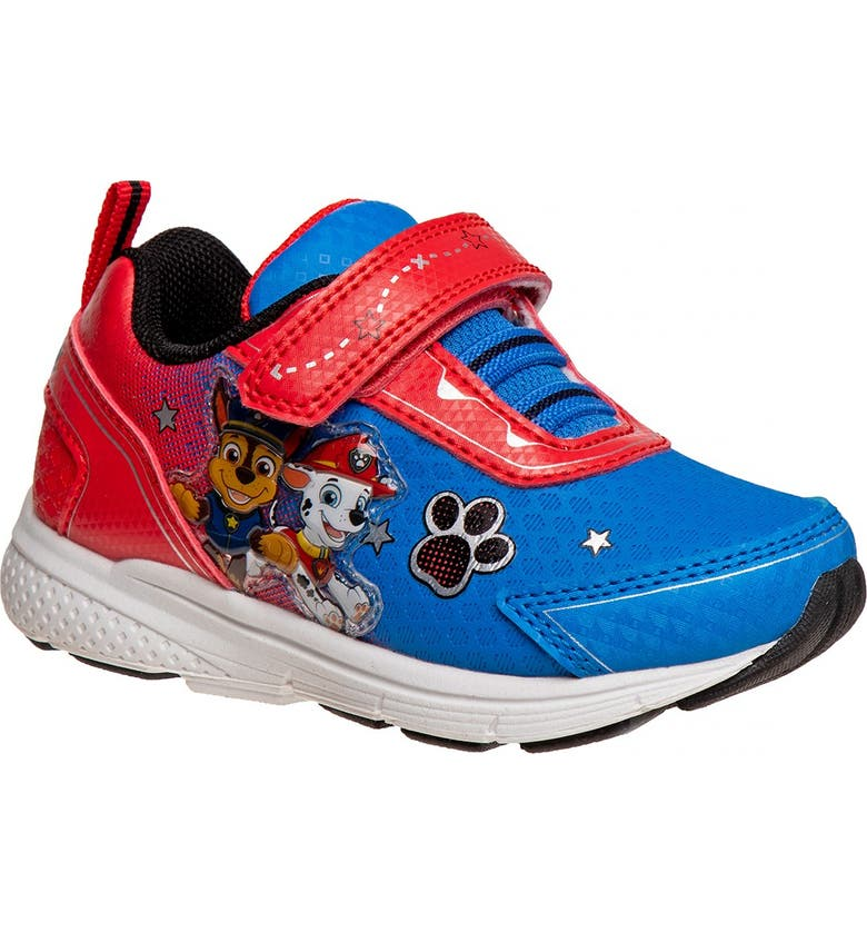 JOSMO Nickelodeon Paw Patrol Light-Up Sneaker, Main, color, RED/BLUE