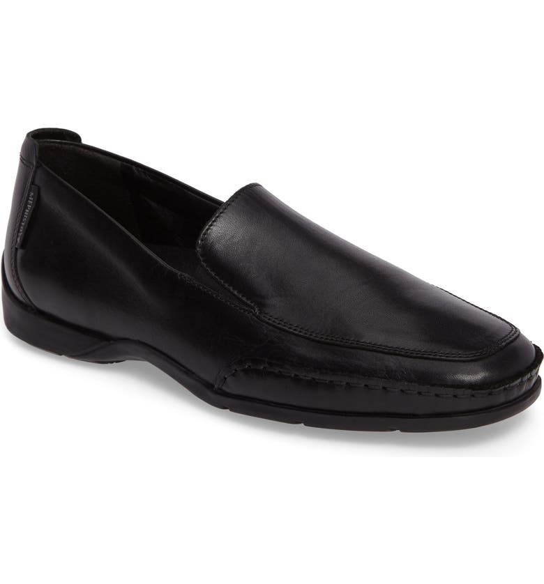 MEPHISTO Edlef Slip-On, Main, color, BLACK SMOOTH LEATHER