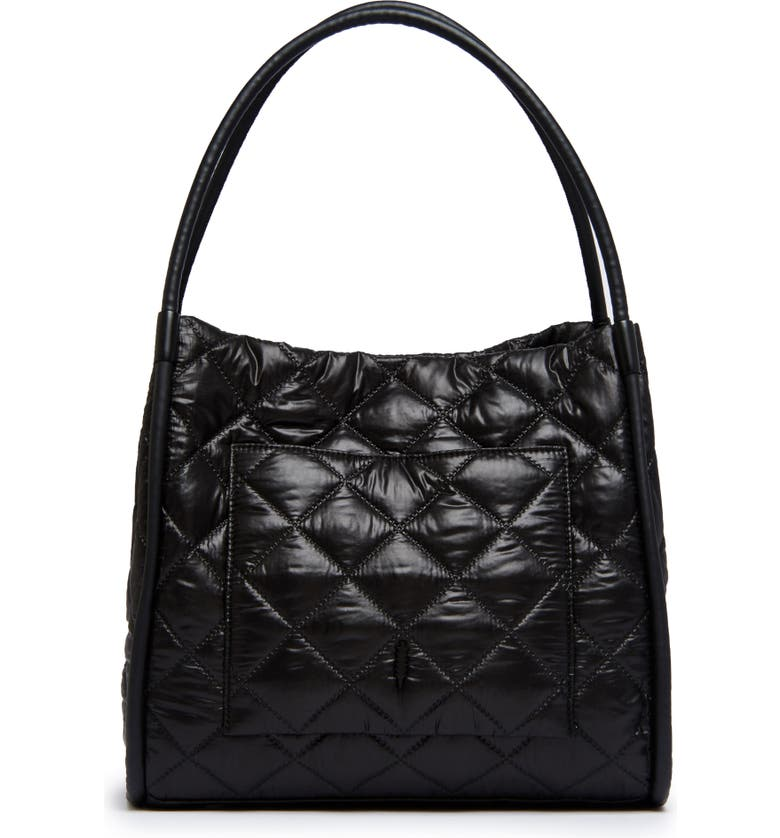 THACKER Tery Quilted Tote Bag, Main, color, 001