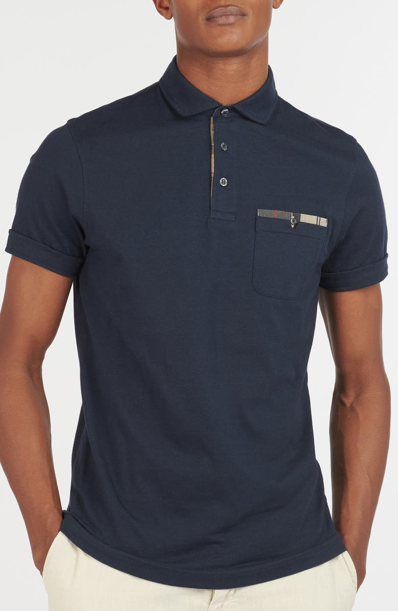 BARBOUR Corpatch Polo Shirt, Main, color, 404