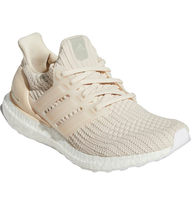 ADIDAS UltraBoost DNA Running Shoe, Main, color, HALO IVORY/ IVORY/ HALO GREEN