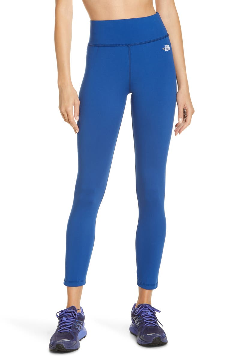 THE NORTH FACE Flex Tights, Main, color, LIMOGES BLUE