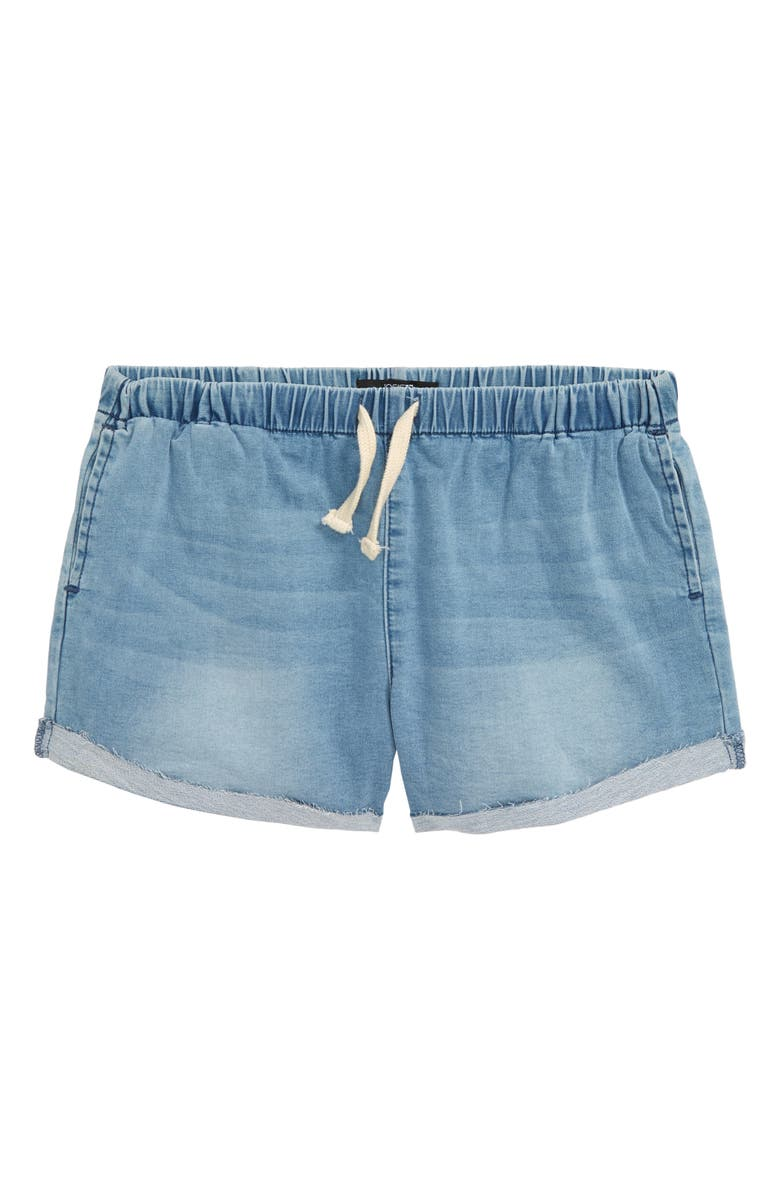 JOE'S Cuffed Pull-On Shorts, Main, color, PACIFIC WASH