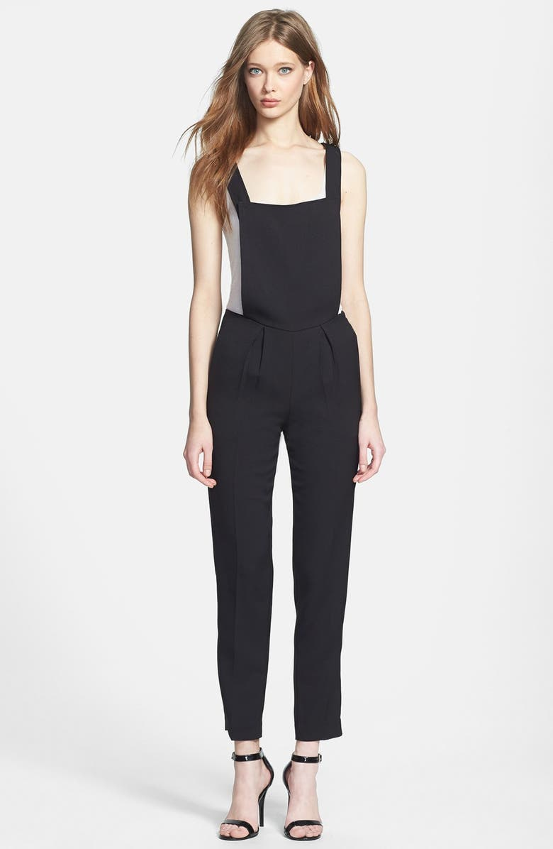 LINE & DOT Tailored Overalls, Main, color, 001