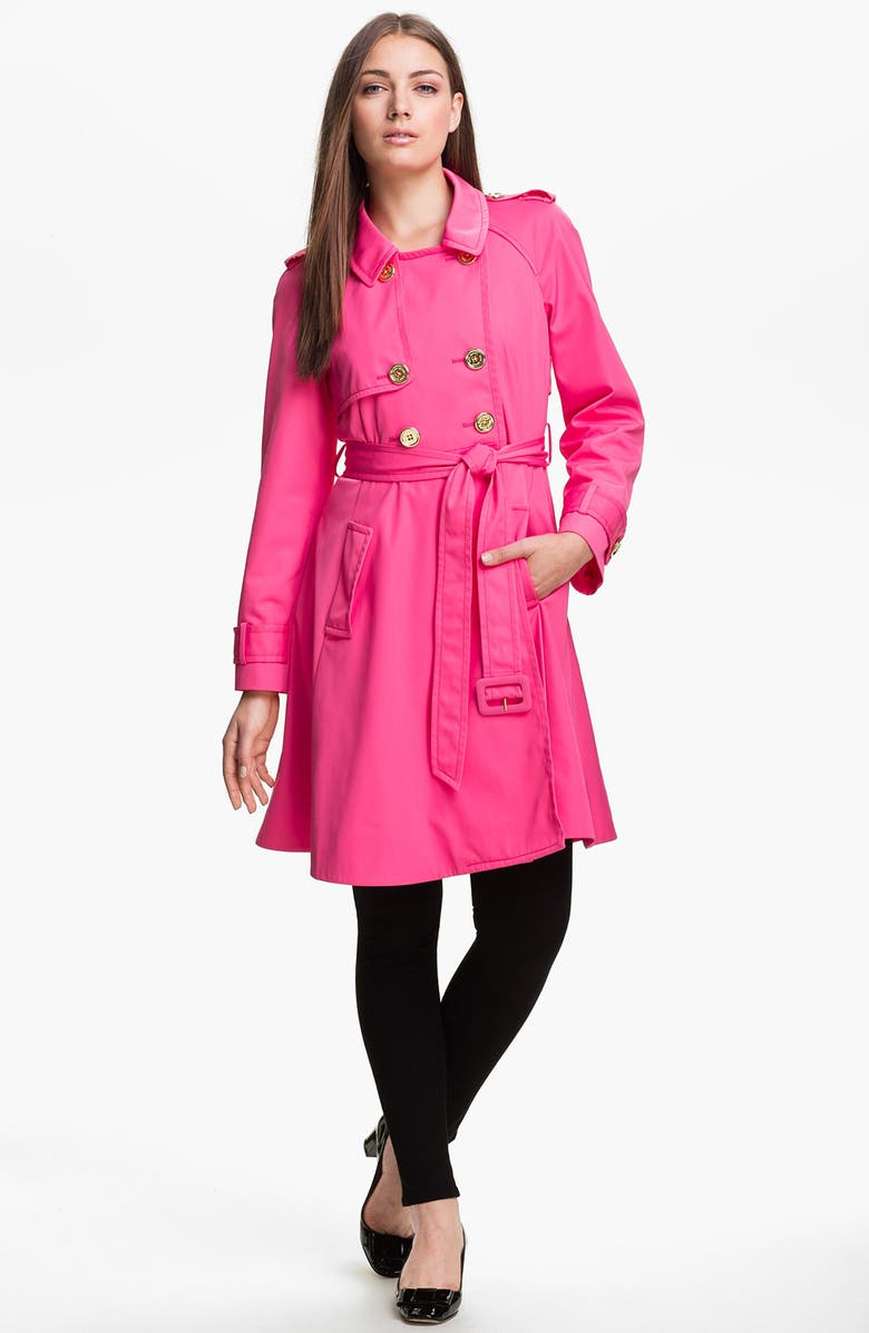 KATE SPADE NEW YORK 'madeline' trench coat, Main, color, 699