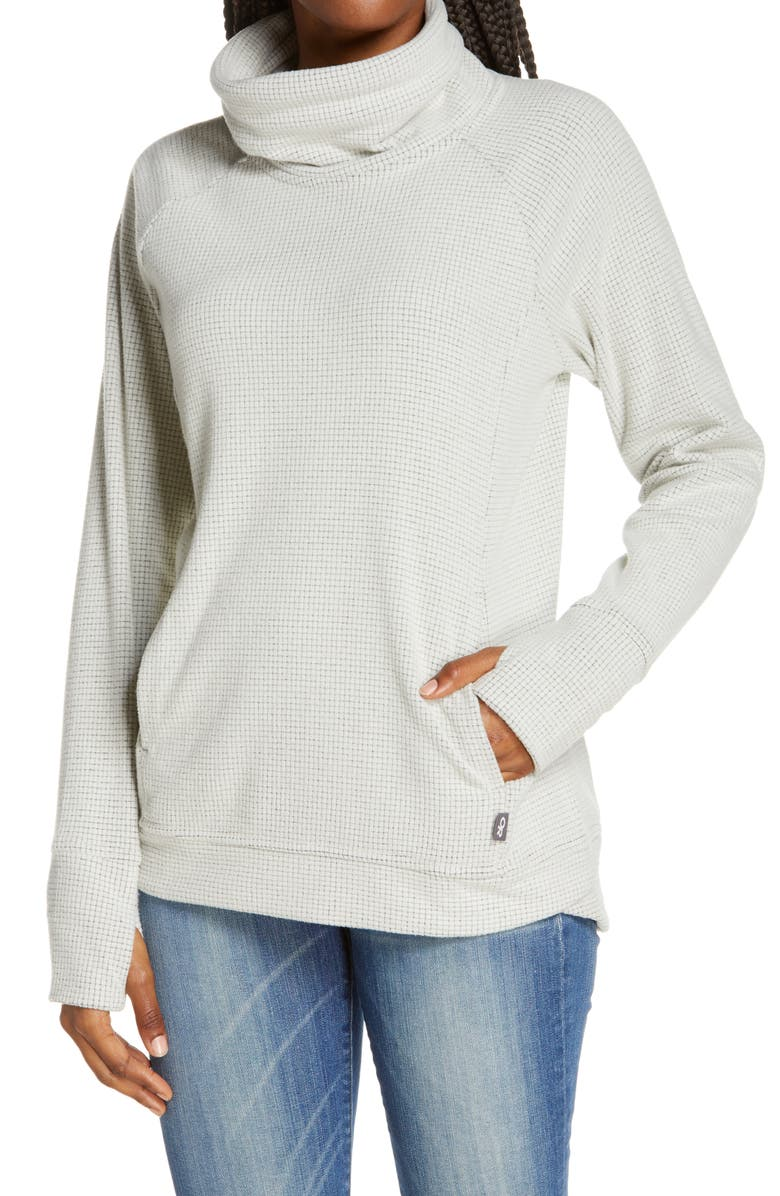 OUTDOOR RESEARCH Trail Mix Stand Collar Pullover, Main, color, SAND