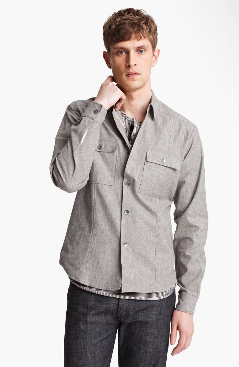 FIELD SCOUT Japanese Selvedge Work Shirt, Main, color, 270
